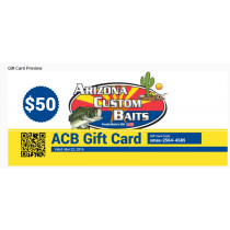 Arizona Custom Baits - Gift Cards