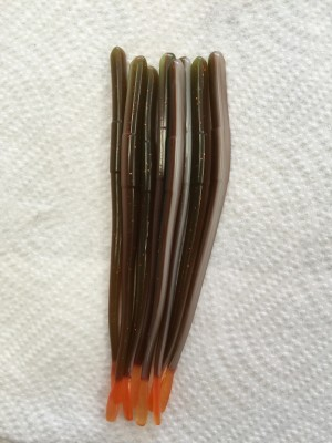 Patti Craw Deluxe Straight Tail Worm