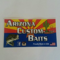 Arizona Custom Baits Decal